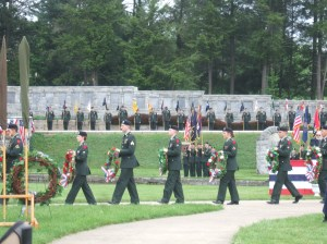 2011 Armed Forces Memorial Service at Boalsburg, PA