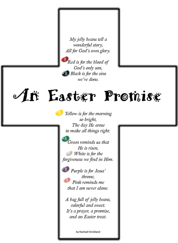 An Easter Promise cross color