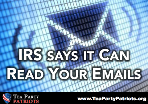 IRS can read your email - tpp