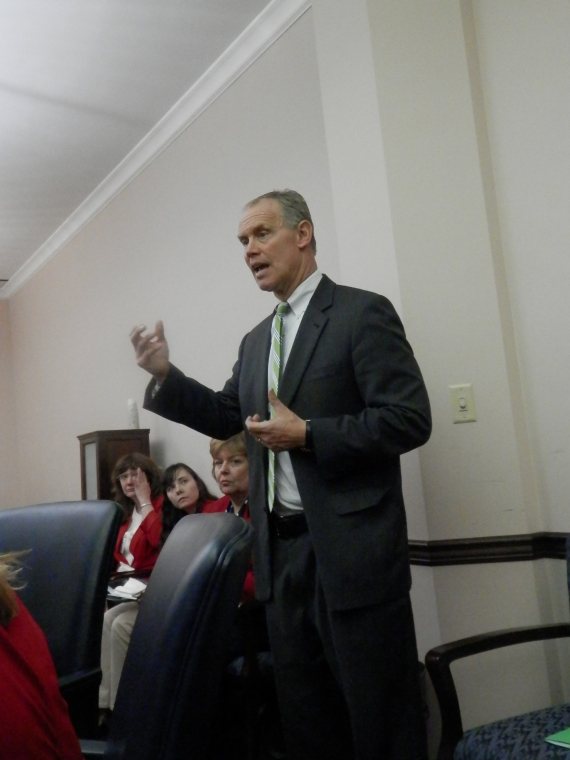 Rep Mike Turzai, 28th District, joined PFRW at Red Jacket Day speaking on the PA budget issues.