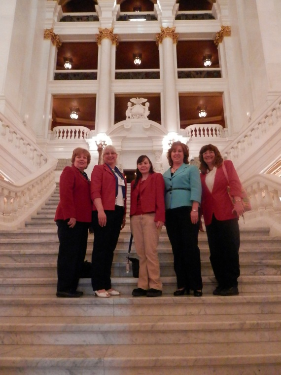 SUN (Snyder, Union, & Northumberland counties) attend Red Jacket Day in Harrisburg, PA.