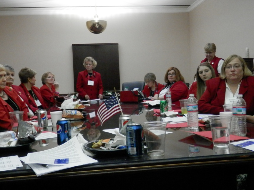 PFRW met at the PA Capitol to discuss legislative issues at Red Jacket Day.