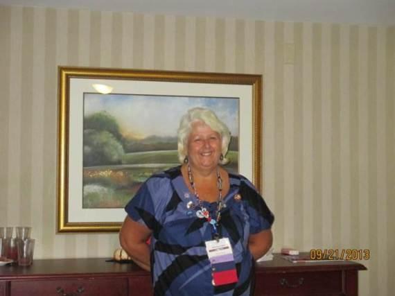 PFRW President Meryl Hatton