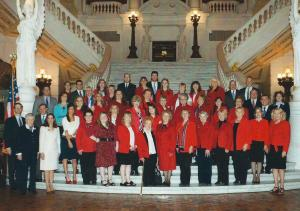 2013 PFRW PAC's Red Jacket Day