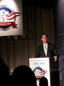 2014 PLC - Santorum