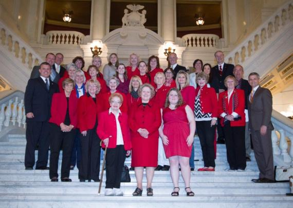 2014 PFRW PAC Red Jacket Day
