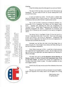 Newsletter - 12.2014