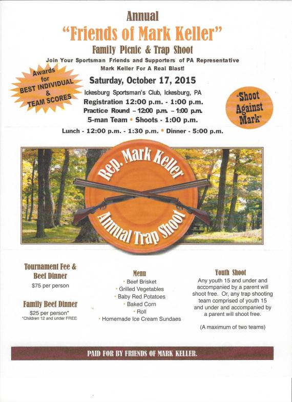 10-17-2015 Family Picnic & Trap Shoot