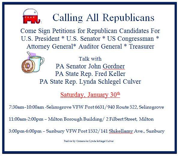 1.30.2016 Petition signing event