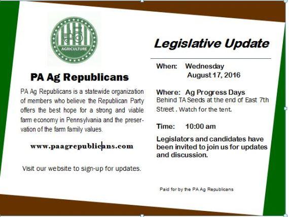 08.17.2016 Leg Update Event